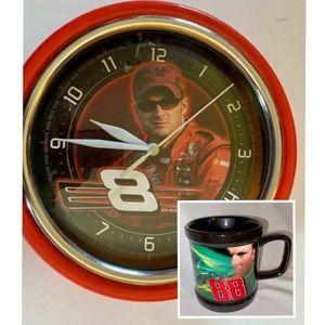 Dale Earnhardt Jr. #8 NASCAR Clock & NWT M…